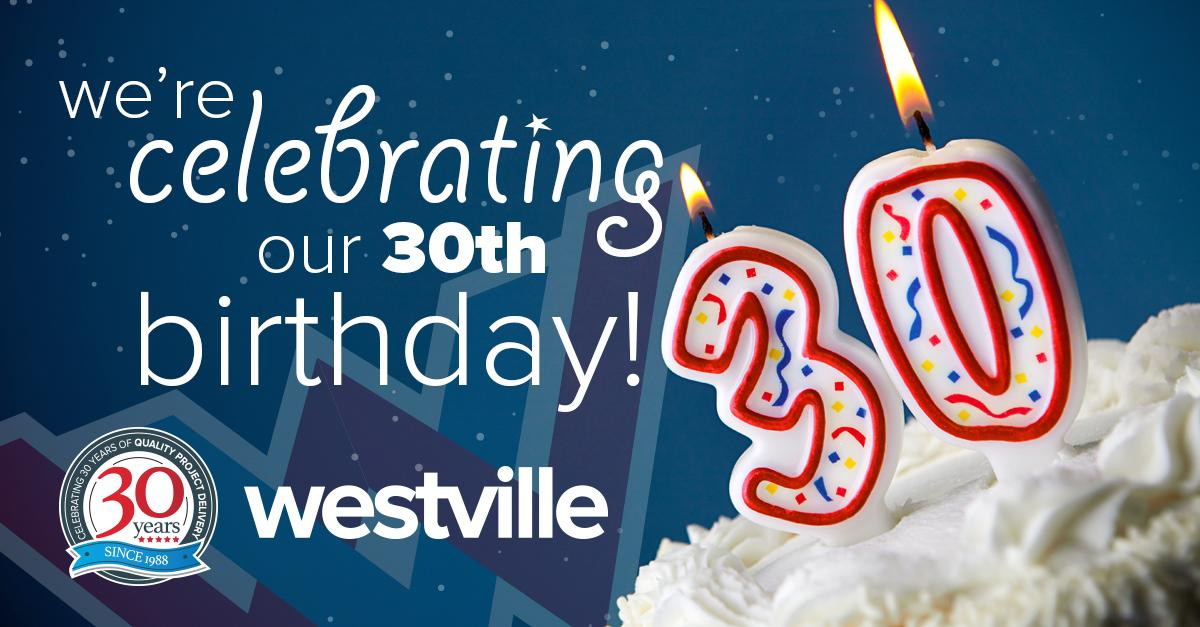 Westville Group are celebrating 30 years of business